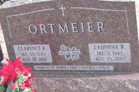 ORTMEIER, LADONNA R. - Cuming County, Nebraska   LADONNA R. ORTMEIER - Nebraska Gravestone Photos