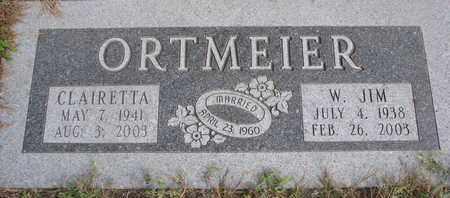 ORTMEIER, CLAIRETTA - Cuming County, Nebraska | CLAIRETTA ORTMEIER - Nebraska Gravestone Photos