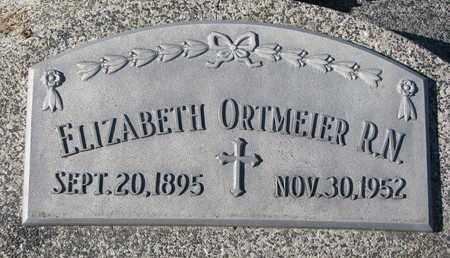 ORTMEIER, ELIZABETH (R.N.) - Cuming County, Nebraska   ELIZABETH (R.N.) ORTMEIER - Nebraska Gravestone Photos