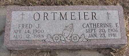 ORTMEIER, CATHERINE E. - Cuming County, Nebraska | CATHERINE E. ORTMEIER - Nebraska Gravestone Photos