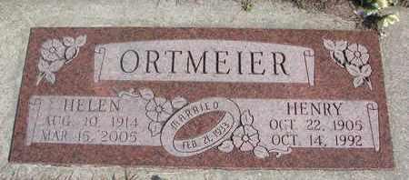ORTMEIER, HELEN - Cuming County, Nebraska | HELEN ORTMEIER - Nebraska Gravestone Photos