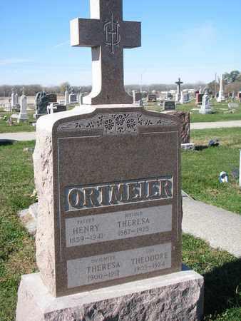 ORTMEIER, HENRY - Cuming County, Nebraska | HENRY ORTMEIER - Nebraska Gravestone Photos