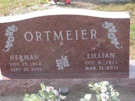 ORTMEIER, LILLIAN - Cuming County, Nebraska | LILLIAN ORTMEIER - Nebraska Gravestone Photos