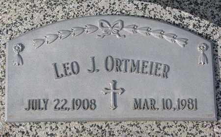 ORTMEIER, LEO J. - Cuming County, Nebraska   LEO J. ORTMEIER - Nebraska Gravestone Photos