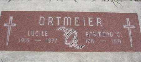 ORTMEIER, RAYMOND C. - Cuming County, Nebraska | RAYMOND C. ORTMEIER - Nebraska Gravestone Photos