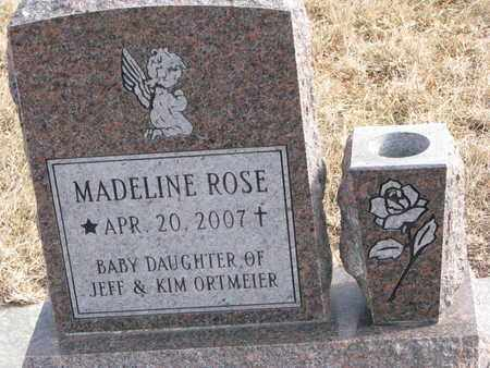 ORTMEIER, MADELINE ROSE - Cuming County, Nebraska | MADELINE ROSE ORTMEIER - Nebraska Gravestone Photos
