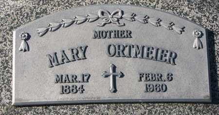 ORTMEIER, MARY - Cuming County, Nebraska   MARY ORTMEIER - Nebraska Gravestone Photos