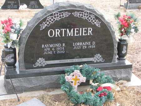 ORTMEIER, LORRAINE D. - Cuming County, Nebraska | LORRAINE D. ORTMEIER - Nebraska Gravestone Photos