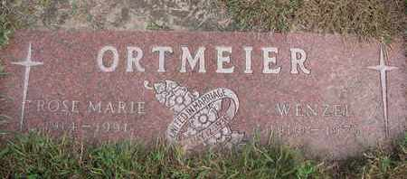 ORTMEIER, ROSE MARIE - Cuming County, Nebraska | ROSE MARIE ORTMEIER - Nebraska Gravestone Photos