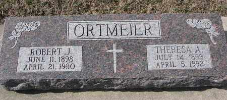 ORTMEIER, ROBERT J. - Cuming County, Nebraska | ROBERT J. ORTMEIER - Nebraska Gravestone Photos
