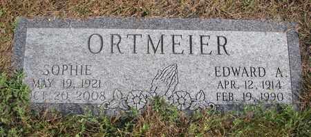 ORTMEIER, EDWARD A. - Cuming County, Nebraska | EDWARD A. ORTMEIER - Nebraska Gravestone Photos