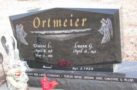 ORTMEIER, VINCENT L. - Cuming County, Nebraska | VINCENT L. ORTMEIER - Nebraska Gravestone Photos