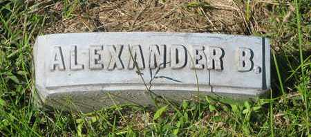 PERSON, ALEXANDER B. (FOOTSTONE) - Cuming County, Nebraska | ALEXANDER B. (FOOTSTONE) PERSON - Nebraska Gravestone Photos