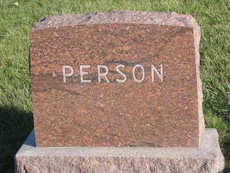 PERSON, FAMILY MONUMENT) - Cuming County, Nebraska   FAMILY MONUMENT) PERSON - Nebraska Gravestone Photos