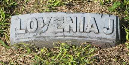 PERSON, LOVENIA J. (FOOTSTONE) - Cuming County, Nebraska | LOVENIA J. (FOOTSTONE) PERSON - Nebraska Gravestone Photos