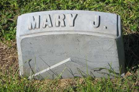 PERSON, MARY J. (CLOSE UP) - Cuming County, Nebraska | MARY J. (CLOSE UP) PERSON - Nebraska Gravestone Photos
