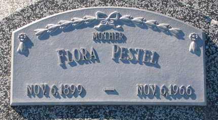 PESTEL, FLORA - Cuming County, Nebraska | FLORA PESTEL - Nebraska Gravestone Photos