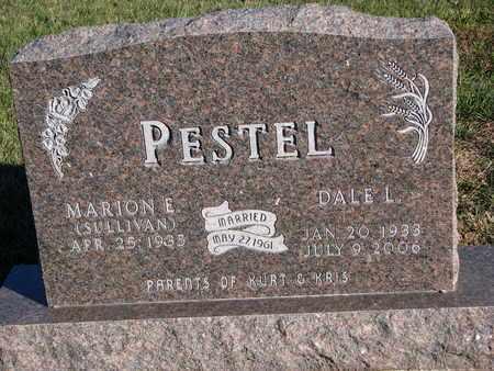 SULLIVAN PESTEL, MARION E. - Cuming County, Nebraska | MARION E. SULLIVAN PESTEL - Nebraska Gravestone Photos