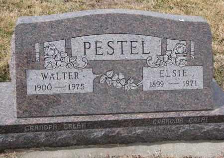 PESTEL, ELSIE - Cuming County, Nebraska | ELSIE PESTEL - Nebraska Gravestone Photos