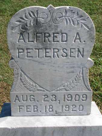 PETERSEN, ALFRED A. - Cuming County, Nebraska | ALFRED A. PETERSEN - Nebraska Gravestone Photos