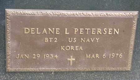 PETERSEN, DELANE L. (MILITARY MARKER) - Cuming County, Nebraska | DELANE L. (MILITARY MARKER) PETERSEN - Nebraska Gravestone Photos