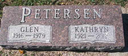 PETERSEN, GLEN - Cuming County, Nebraska | GLEN PETERSEN - Nebraska Gravestone Photos