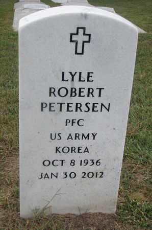 PETERSEN, LYLE ROBERT - Cuming County, Nebraska | LYLE ROBERT PETERSEN - Nebraska Gravestone Photos