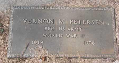 PETERSEN, VERNON M. - Cuming County, Nebraska | VERNON M. PETERSEN - Nebraska Gravestone Photos
