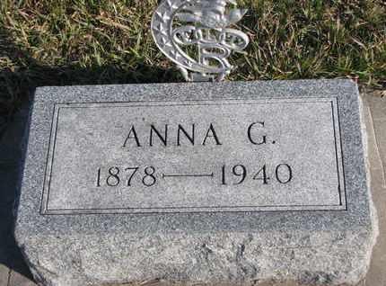 PIERE, ANNA G. - Cuming County, Nebraska | ANNA G. PIERE - Nebraska Gravestone Photos