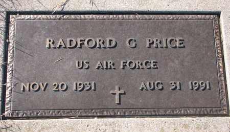 PRICE, RADFORD G. - Cuming County, Nebraska | RADFORD G. PRICE - Nebraska Gravestone Photos