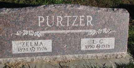 PURTZER, ZELMA - Cuming County, Nebraska   ZELMA PURTZER - Nebraska Gravestone Photos