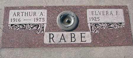 RABE, ELVERA F. - Cuming County, Nebraska | ELVERA F. RABE - Nebraska Gravestone Photos