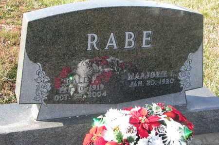 RABE, MARJORIE L. - Cuming County, Nebraska | MARJORIE L. RABE - Nebraska Gravestone Photos