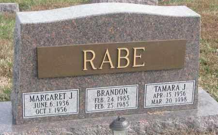 RABE, BRANDON - Cuming County, Nebraska | BRANDON RABE - Nebraska Gravestone Photos