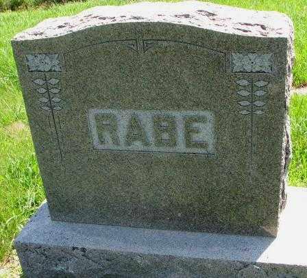RABE, PLOT - Cuming County, Nebraska | PLOT RABE - Nebraska Gravestone Photos