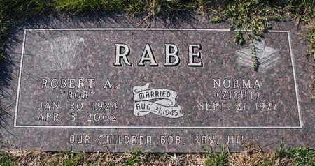 RABE, ROBERT A. - Cuming County, Nebraska | ROBERT A. RABE - Nebraska Gravestone Photos