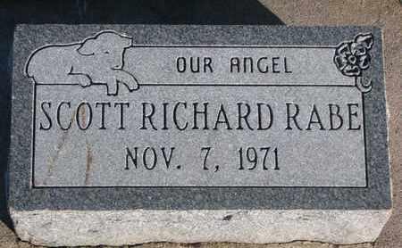 RABE, SCOTT RICHARD - Cuming County, Nebraska | SCOTT RICHARD RABE - Nebraska Gravestone Photos