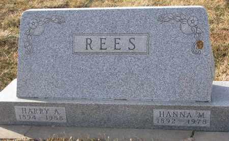 REES, HARRY A. - Cuming County, Nebraska | HARRY A. REES - Nebraska Gravestone Photos