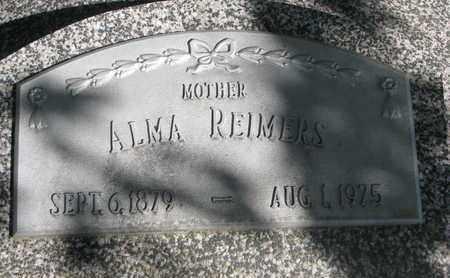 REIMERS, ALMA - Cuming County, Nebraska | ALMA REIMERS - Nebraska Gravestone Photos