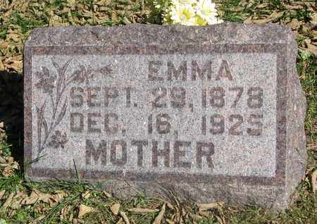 REIMERS, EMMA - Cuming County, Nebraska   EMMA REIMERS - Nebraska Gravestone Photos