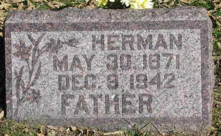 REIMERS, HERMAN - Cuming County, Nebraska | HERMAN REIMERS - Nebraska Gravestone Photos