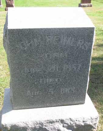 REIMERS, JOHN - Cuming County, Nebraska   JOHN REIMERS - Nebraska Gravestone Photos