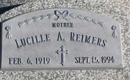 REIMERS, LUCILLE A. - Cuming County, Nebraska | LUCILLE A. REIMERS - Nebraska Gravestone Photos