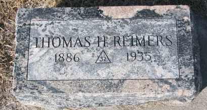 REIMERS, THOMAS H. - Cuming County, Nebraska | THOMAS H. REIMERS - Nebraska Gravestone Photos