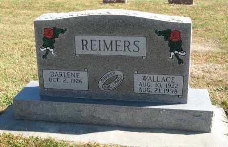 REIMERS, WALLACE - Cuming County, Nebraska | WALLACE REIMERS - Nebraska Gravestone Photos