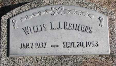 REIMERS, WILLIS L.J. - Cuming County, Nebraska | WILLIS L.J. REIMERS - Nebraska Gravestone Photos