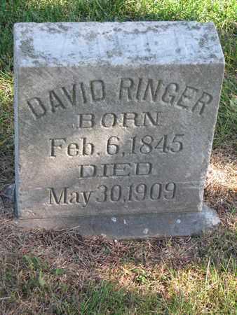 RINGER, DAVID - Cuming County, Nebraska | DAVID RINGER - Nebraska Gravestone Photos