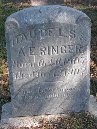 RINGER, DAUGHER - Cuming County, Nebraska | DAUGHER RINGER - Nebraska Gravestone Photos