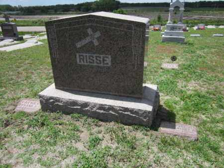 RISSE, (FAMILY MONUMENT) - Cuming County, Nebraska | (FAMILY MONUMENT) RISSE - Nebraska Gravestone Photos