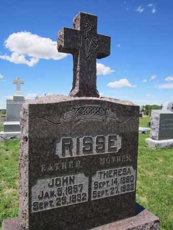 RISSE, JOHN - Cuming County, Nebraska | JOHN RISSE - Nebraska Gravestone Photos